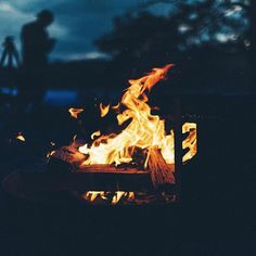 Fires make all nights better