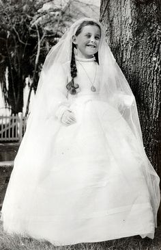 Primera Comunión de Mª Cristina Zubizarreta, 1961 (Colección Daniel Zubimendi) (ref. Z01232)