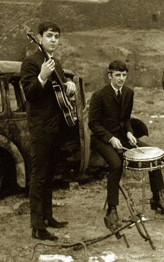 Paul McCartney and Richard Starkey