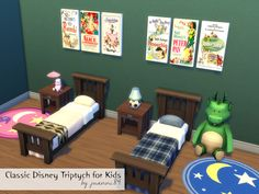 juanni84's Classic Disney Triptych for Kids - Get to Work needed