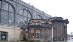 Dresden, altes Kinogebäude am Hauptbahnhof