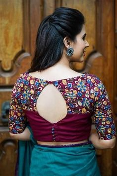 Beautiful blouse back designs Indian, visit to see. Sari blouse designs, saree blouse patterns, Latest blouse back designs, trendy stylish blouse back neck designs you have to see. Indian Blouse Designs, Blouse Back Neck Designs, Traditional Blouse Designs, Cotton Saree Blouse Designs, Simple Blouse Designs, Stylish Blouse Design, Latest Blouse Designs, Pattern Blouses For Sarees, Latest Blouse Patterns