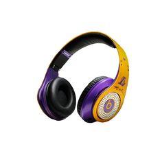 Beats By Dr Dre Studio Kobe Bryant Yellow Diamond Headphones