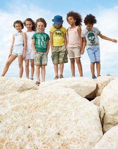 La moda de United Colors of Benetton #moda #ninos