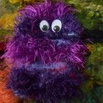 Handymonster violett Preis: 15 Euro Wordpress, Homemade