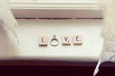 such a cute idea for a proposal...