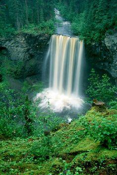 Koosah Falls, Santiam Junction OR   © Marsha K. Russell