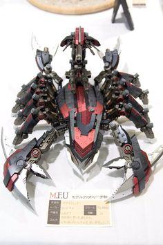 O Terceiro Animal robótico: O Escorpião Gundam, Robot Concept Art, Game Concept, Zoids, Dark Souls, Robot Animal, Aldnoah Zero, Drones, Lego Robot