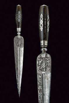 Cuchillo de caza - Italia - Siglo XIX