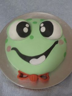 My frog  face cake(For Heaven's Cake in Leland, NC)