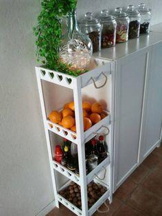 kitchen ideas – New Ideas Diy Kitchen, Kitchen Interior, Kitchen Decor, Kitchen Design, Wood Plastic, Cabinet Decor, Deco Table, Kitchen Organization, Home And Living