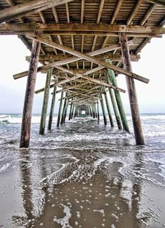 Under the boardwalk...down by the seaaaa yeah