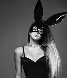 Don't want to miss out on seeing Ariana Grande on The Dangerous Woman Tour? Join the Ariana Grande Fan Group and Wish List to attend the concert on February Ariana Grande Fotos, Ariana Grande Images, Ariana Grande Bunny, Ariana Grande Poster, Ariana Grande Drawings, Ariana Grande Dangerous Woman, Dangerous Woman Tour, Selena Gomez, Grand Noir