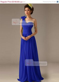 Royal blue bridesmaid dress  Weddings  Pinterest  Dresses with ...