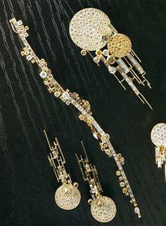 Jean Vendome jewelry suite