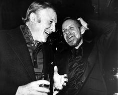 """Actor Gene Kelly, left, and director-choreographer Bob Fosse have an animated discussion at the opening night party for Fosse's new musical """"Dancin'"""" at the Tavern on the Green in New York's Central Park in this March 1978 New York Central, Central Park, Studio 54 Disco, Tavern On The Green, Bob Fosse, An American In Paris, Gene Kelly, Singing In The Rain, Robert Louis"""