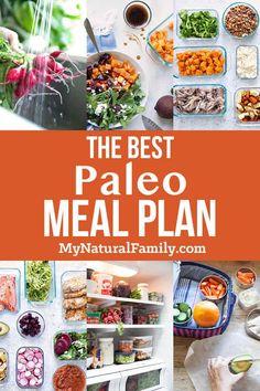 The Best Paleo Meal Plan - Includes A Link To ! der beste paleo-speiseplan - beinhaltet einen link zu The Best Paleo Meal Plan - Includes A Link To ! Ketogenic Diet Meal Plan, Diet Plan Menu, Keto Meal Plan, Paleo Plan, Ketosis Diet, Paleo Recipes, Whole Food Recipes, Paleo Food, Paleo Cookbook