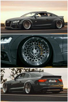 Audi S5 Coupe with Rocket Bunny Kit