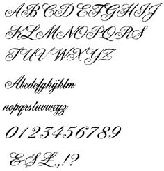 25 Best Tattoo Letters images | Calligraphy, Fonts, Lettering tattoo