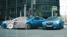 All moving cars in this ad had to be created in full CG, animated and seamlessly composited into the real camera shots. Attention to even the smallest details in the animation and precision in the overall visual details were crucial to make the cars look real.     Director: Daniel Benmayor  Client: Park Production - Moscow