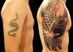 Damn Funny Pics: The Best Cover-up Tattoos