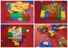 Make serving bowls and trays from legos :)