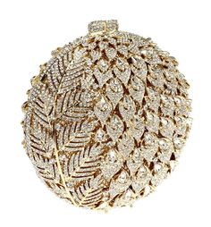 Bolsos antiguos Embroidery Purse, Studded Clutch, Bridal Clutch, Metallic Bag, Beaded Purses, Evening Bags, Handbag Accessories, Purses And Bags, Clutch Bags