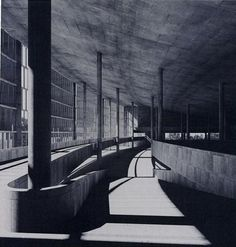 Tsentrosoyuz Building, Moscow, Le Corbusier, 1933