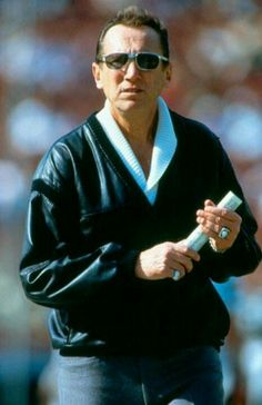 Love him or hate him, you had to respect him.  Al Davis Owner Oakland Raiders Football Franchise. Just win baby!