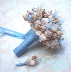 Made to Order Custom Details Bridal Bouquet of by romanticflowers, $100.00