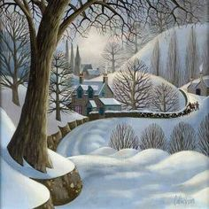 George Callaghan - artwork prices, pictures and values. Art market estimated value about George Callaghan works of art. Winter Landscape, Landscape Art, Winter Illustration, Illustration Art, Winter Drawings, Irish Art, Winter Art, Winter Snow, Naive Art