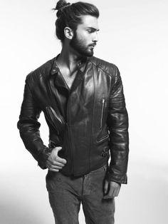 Devran Taskesen men's leather jacket