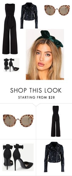 """""""Untitled #4544"""" by laieeeetaa ❤ liked on Polyvore featuring Topshop, Susana Monaco, Nasty Gal and NLY Accessories"""