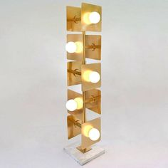 puzzle floor lamp by Jonathan Adler