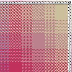 Blanket Hand Weaving Pattern - WIF file available. - Blanket Hand Weaving Pattern – WIF file available. Weaving Designs, Weaving Projects, Tablet Weaving, Loom Weaving, Loom Knitting, Knitting Stitches, Free Knitting, Knitting Patterns, Swedish Weaving Patterns
