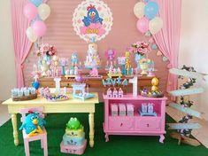 Arraso de festa com o tema Galinha Pintadinha! Lottie Dottie, Event Agency, Bridal Shower, Baby Shower, Baby E, Ideas Para Fiestas, Art Party, Candy Colors, Birthday Decorations