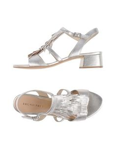 Bruno Premi Women Sandals on YOOX. The best online selection of Sandals Bruno Premi. YOOX exclusive items of Italian and international designers - Secure payments