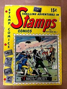 STAMPS COMICS # 1 FR - http://stamps.goshoppins.com/stamp-publications-supplies/stamps-comics-1-fr/