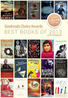 Goodreads Choice Awards - best books of 2013