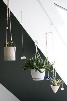 Happy Interior Blog: Urban Jungle Bloggers: Hanging Planters