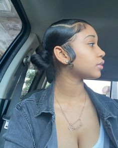 Baddie Hairstyles, Black Girls Hairstyles, Ponytail Hairstyles, Weave Hairstyles, Cute Hairstyles, Relaxed Hairstyles, Hairdos, Hairstyle Ideas, Hair Ponytail Styles