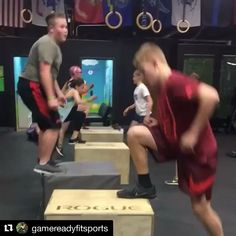Hey you! The one with the kid that plays sports year round.  Your kid needs to balance themselves out and strengthen their muscles. This is the perfect program.  #Repost @gamereadyfitsports with @get_repost  Working some unilateral movement tonight with our Youth Sports Athletes.  Great group tonight and great effort.  Looking forward to this group continuing to grow in ability and size  #youthsports #performance #football #basketball #soccer #baseball #lacrosse #hockey #speed #sports