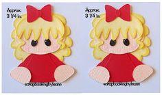 Girl Peekers Paper Piecings