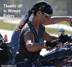 We just want to ride too! Doesn't mean we're not still Ladies!