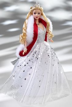 Holiday Celebration Barbie Doll - Special Occasion - 2001 Holiday Doll Collection - Barbie Collector