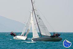 """Centomiglia"" - Internationale Segelregatta der Spitzenklasse   www.sport-photo.at Sports Photos, Sailing Ships, Boat, Pictures, Photo Mural, Lake Garda, Water, Dinghy, Boats"