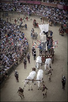 Toscana Palio di Siena   #TuscanyAgriturismoGiratola - the parade before the race that is held each year.