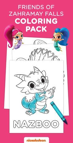 Grab Some Crayons And Let Your Shimmer Shine Fan Spend Even More Time With Their