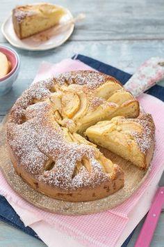 Ricetta torta di mele soffice - (senza burro con olio) - Chiarapassion