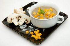 Крем-суп из шампиньонов - рецепт